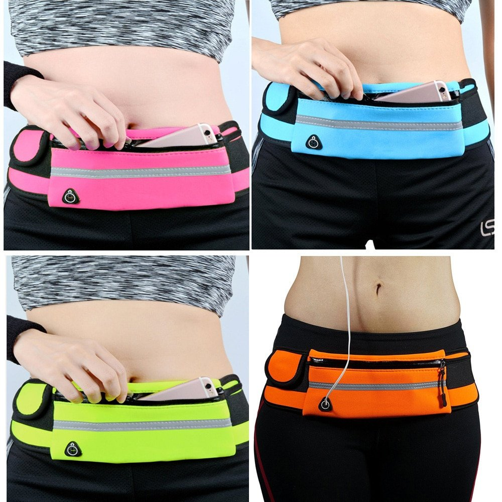 Portable Running Waist Bag